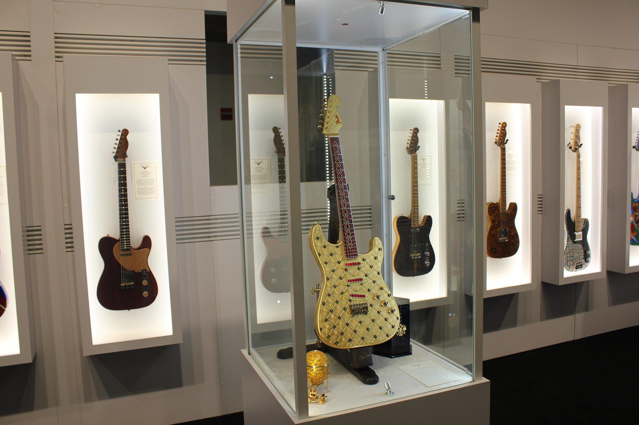 Diamond-studded Coronation crowns Fender Custom Shop NAMM treats