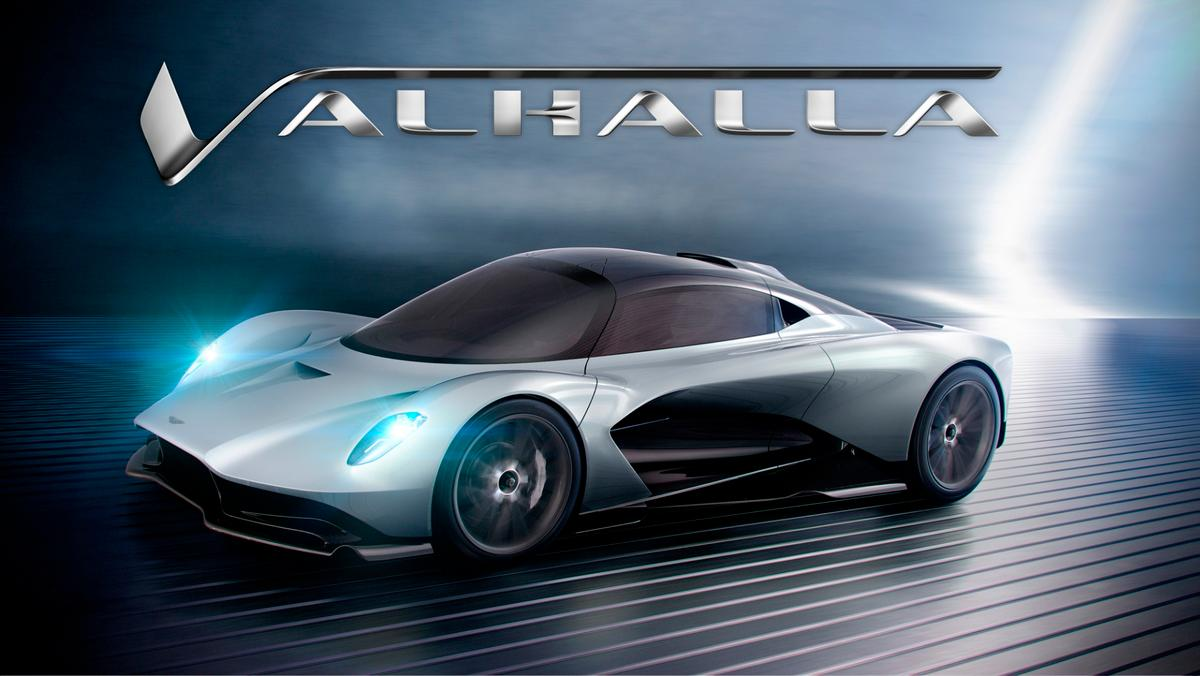 Continuing down the Norse theme, Aston Martin's upcoming Valkyrie-inspired hypercar will be called the Valhalla