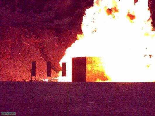 Raytheon test: 10 milliseconds after detonation