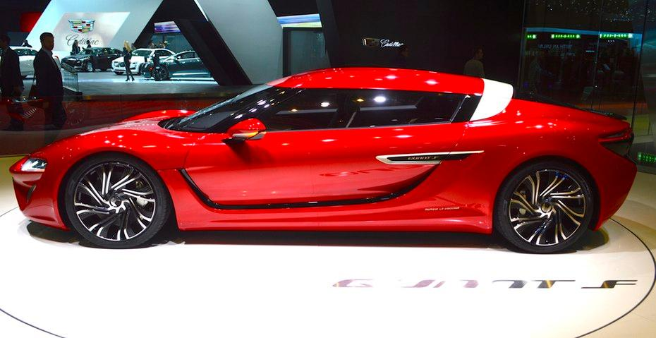 The Quant F at the 2015 Geneva Motor Show