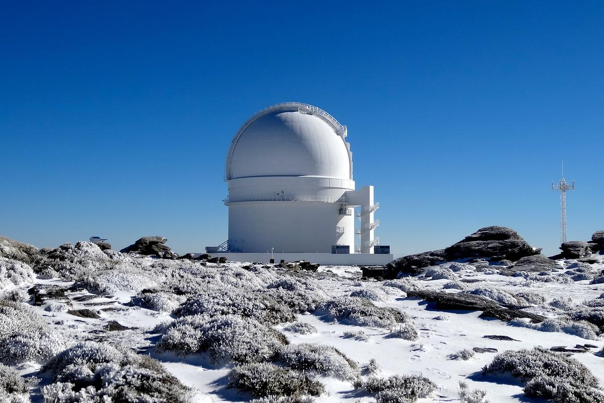 The new planet was discovered by the Calar Alto Observatory in Spain