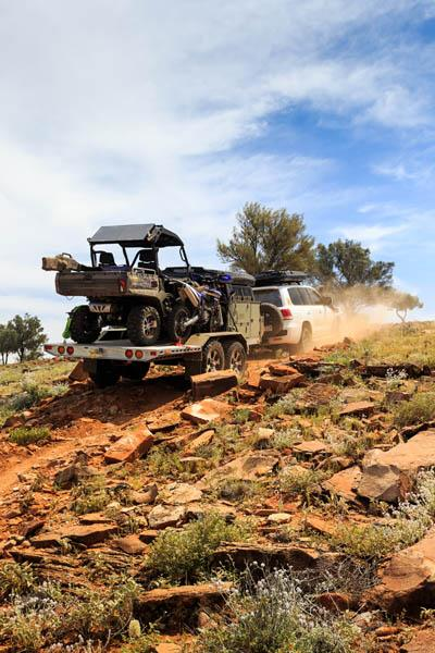 Patriot builds the TH610 rough and ready for off-road adventuring