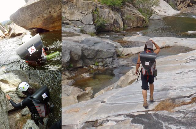 The Honey Badger was designed for the rigors of backpacking, canyoneering and climbing