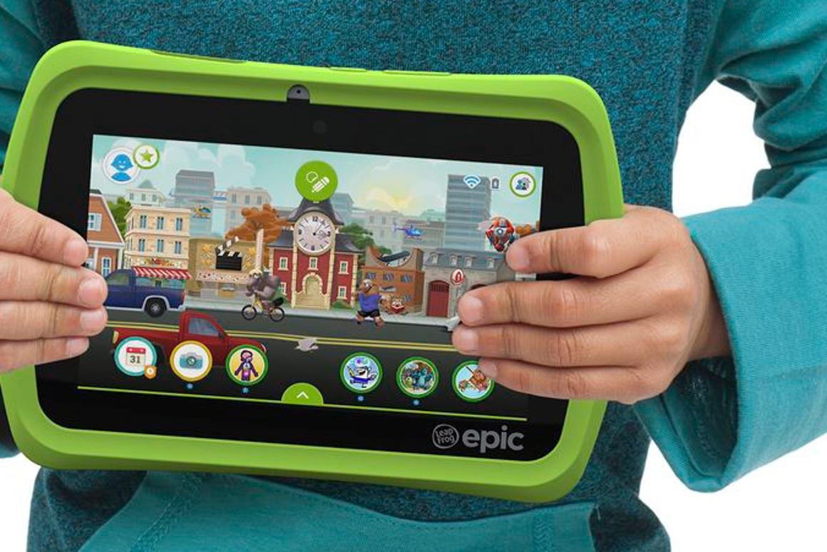 The LeapFrog Epic is an Android-powered tablet for children