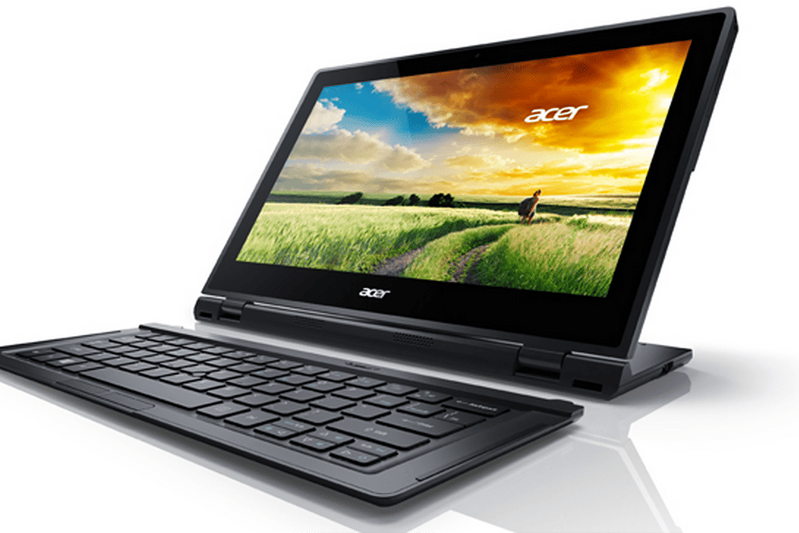 Acer's Aspire Switch 12 is can be used as a tablet, notebook or all-in-one
