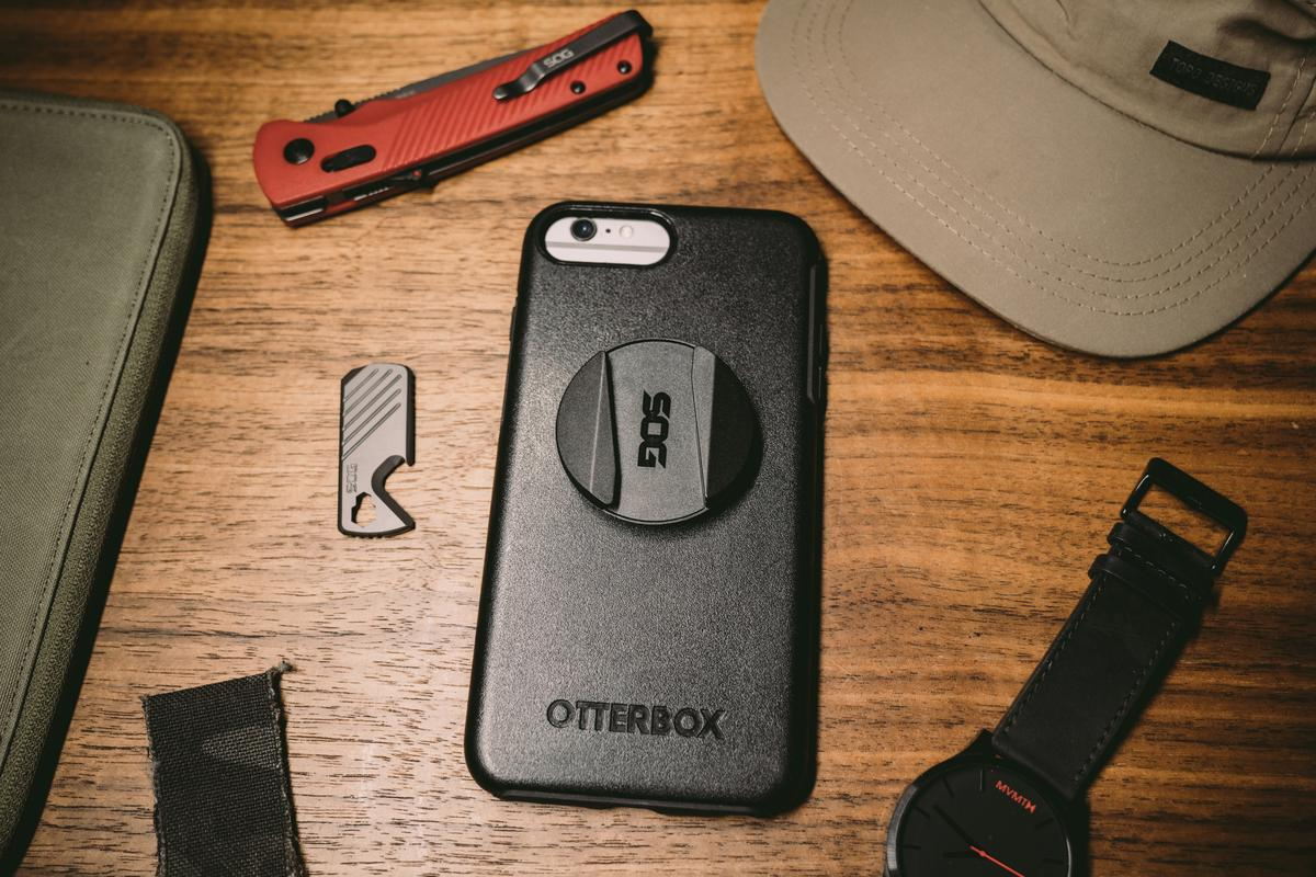The PopGrip SOG Multitool is available now via Popsockets' website