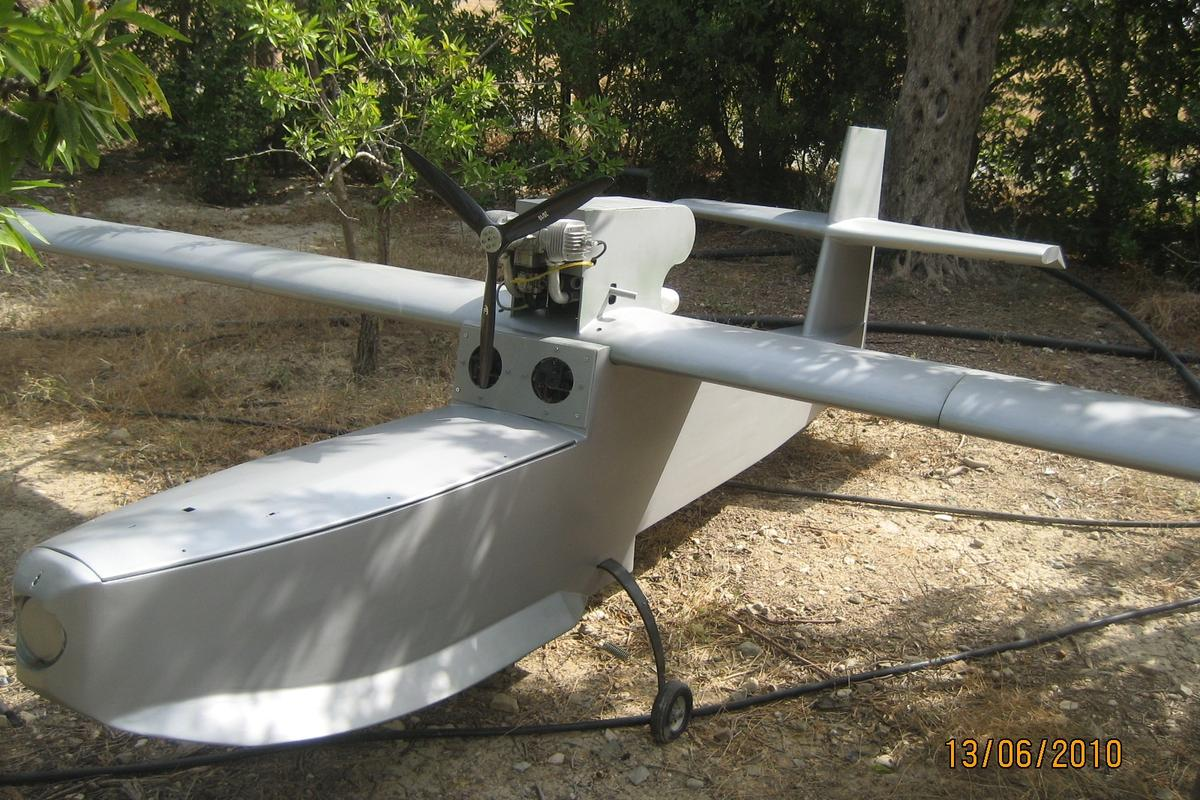 The marine rescue UAV prototype
