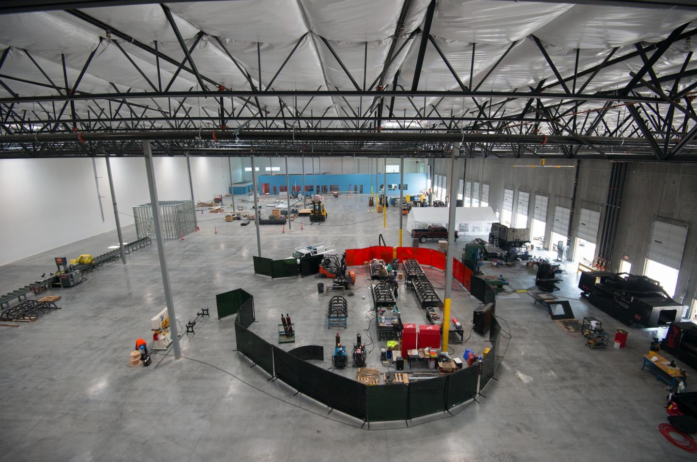 A peek inside Hyperloop One Metalworks