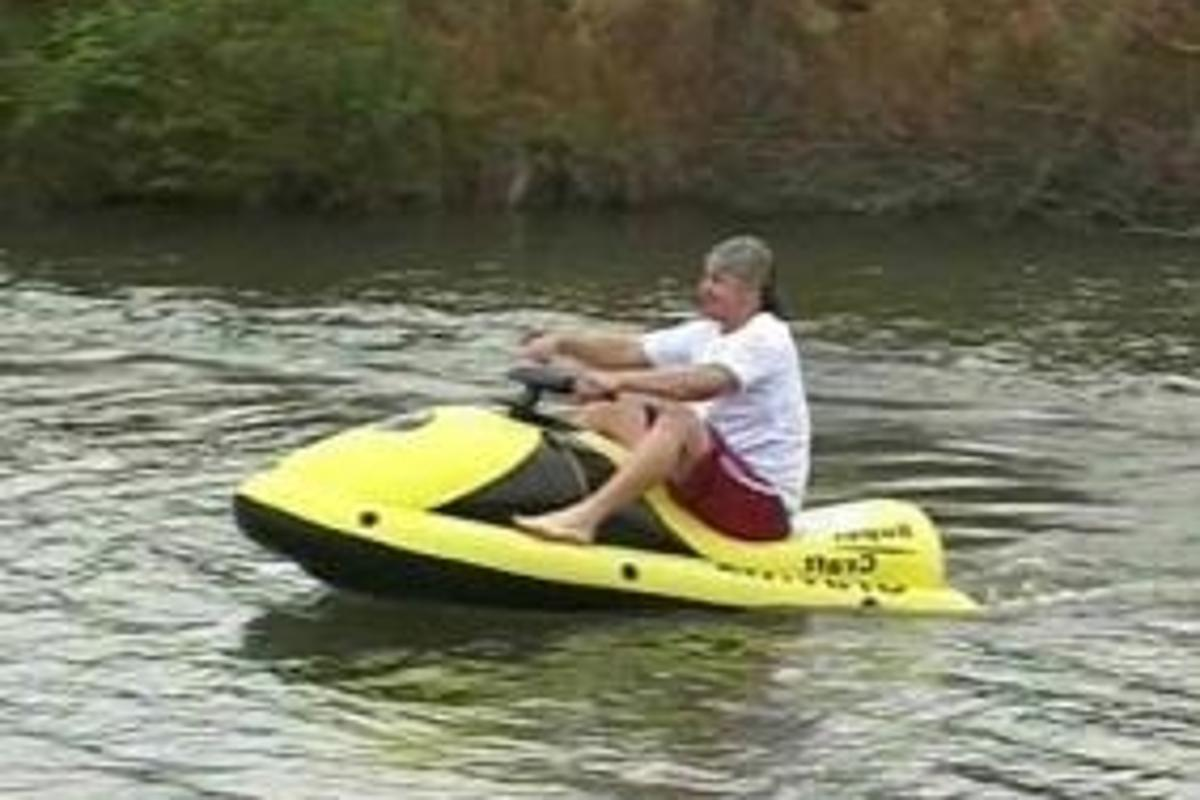 Icontech Electric inflatable watercraft