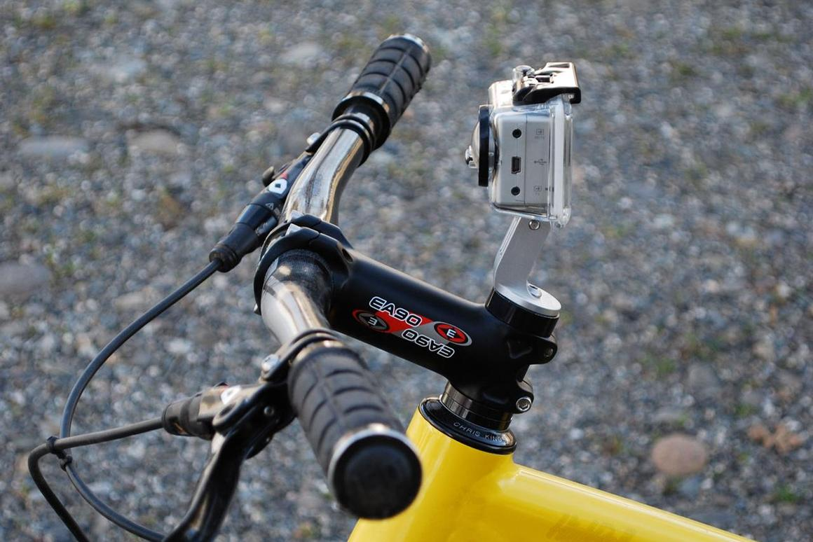New bike mount moves your GoPro from the bars to the stem