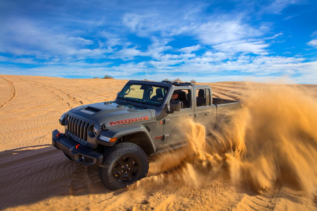 """..the new Gladiator Mojave is a natural extension of our legendary Trail Rated 4x4 capability leadership."" -Jim Morrison, Head of Jeep Brand"