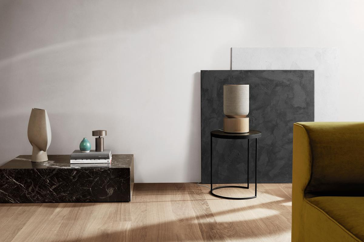 "The Beosound Balance is promised to offer an ""impressively big sound experience compared to its size"""
