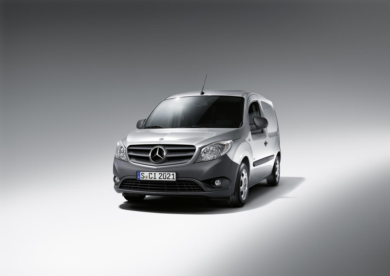 The Mercedes-Benz Citan will be available in three different lengths