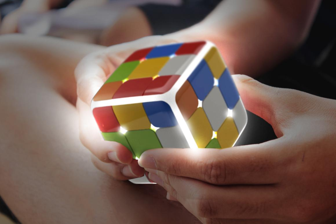 With full Bluetooth connectivity, online battles, games and learning aids, GoCube brings the Rubik's Cube into the digital age
