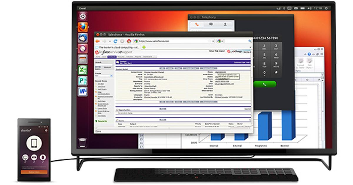 Ubuntu Edge is a smartphone and desktop computer in one