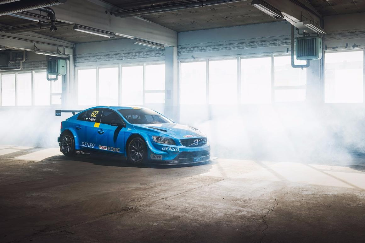 The S60 TC1 Polestar will lead Volvo's return to the WTCC