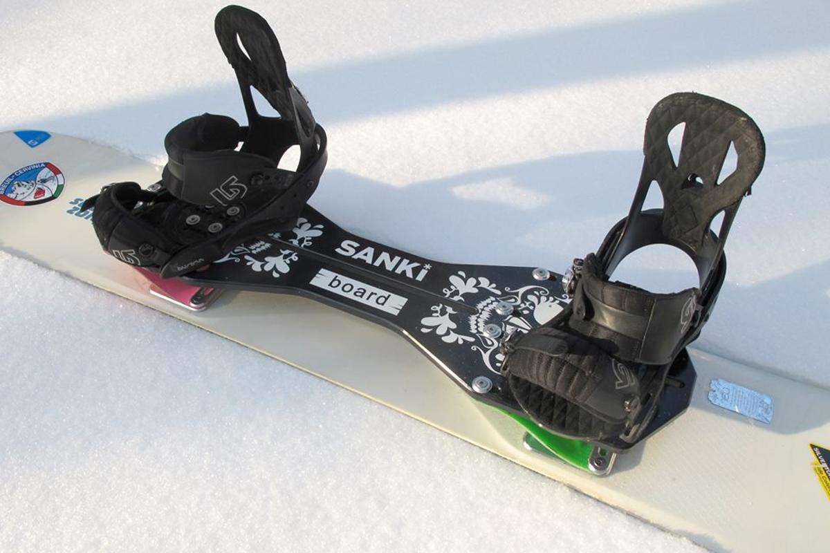 SANKIboard works with existing boards and bindings