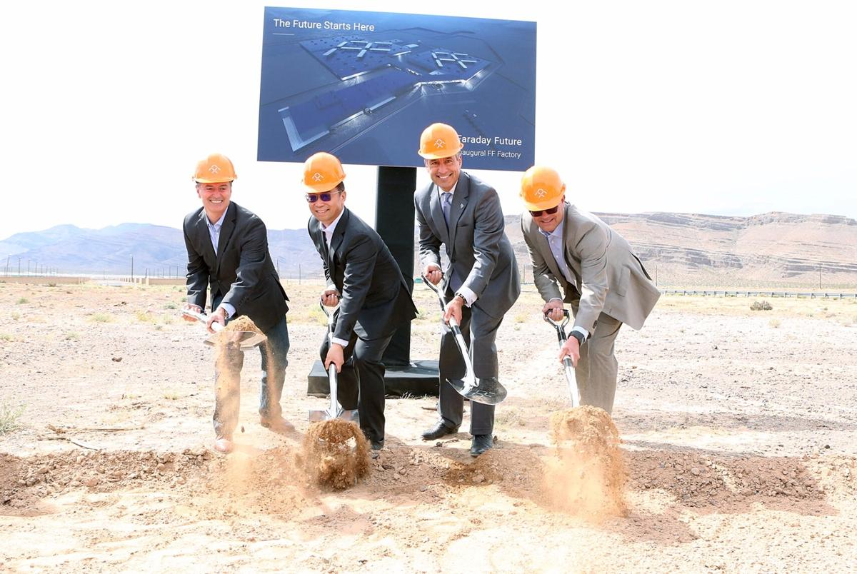 The ground-breaking ceremony for the facility took place on April 13th
