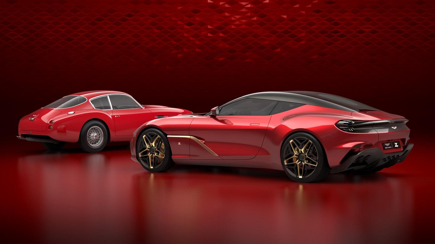 The rear will be one unbroken carbon sheet, with no rear window. Rear vision will thus be through a camera-operated system