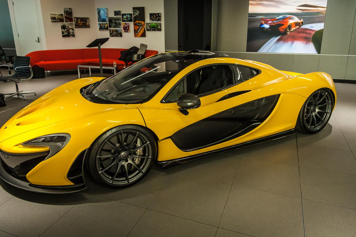 The P1's central exhaust is made of Inconel(Photo: Loz Blain/Gizmag.com)