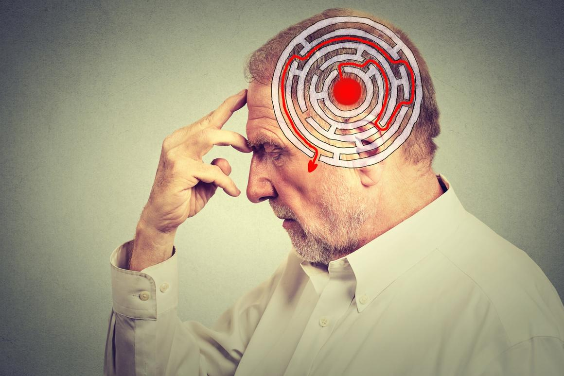 Increasing anxiety in old age could be amnearly symptom of Alzheimer's disease