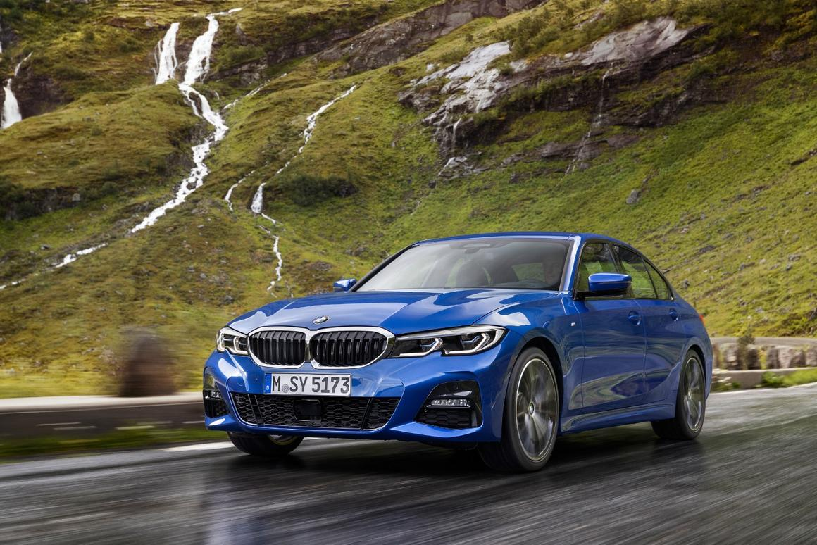 The BMW 3 Series Saloon is the first of a full model line of 3 Series vehicles to be marketed starting in March of 2019