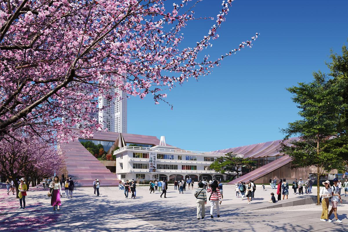 Cheongju New City Hall is due for completion in 2025