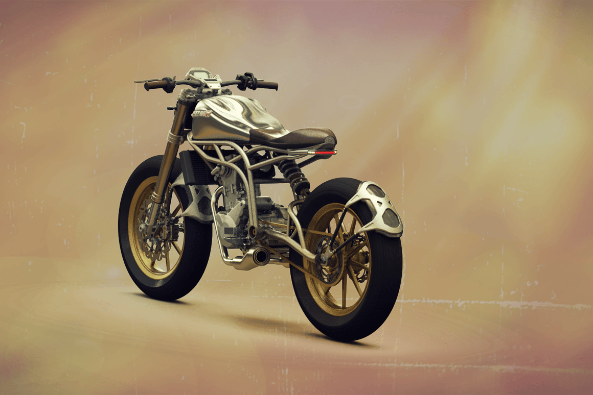 The CCM Spitfire is alightweight flat-track styled roadster with 55 horspower pushing just 120 kg.