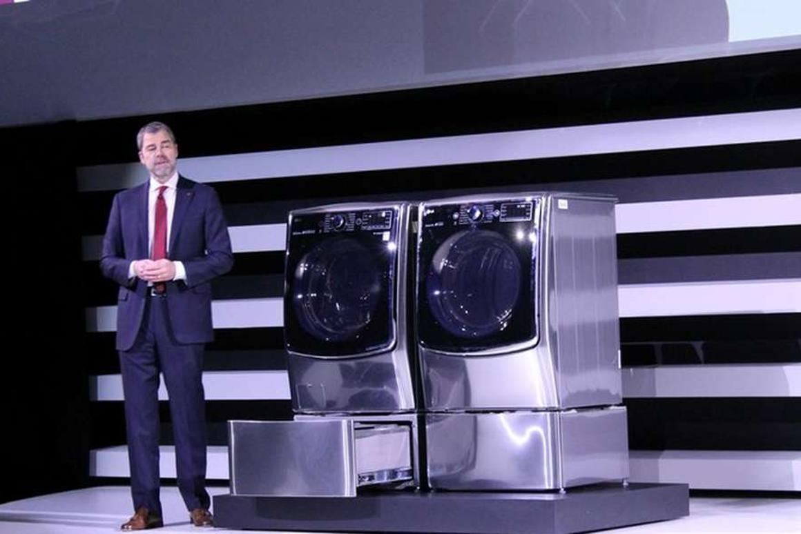 The LG Twin Wash was revealed at CES earlier this year