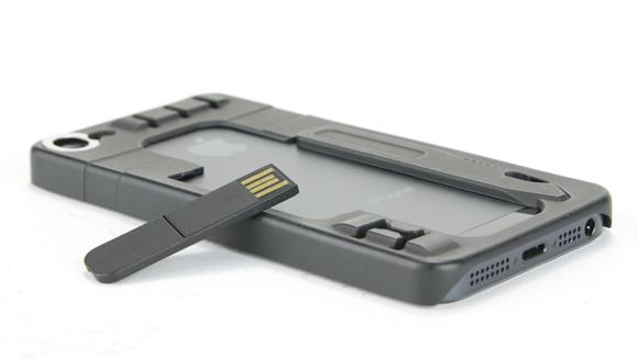 The ReadyCase and its USB drive
