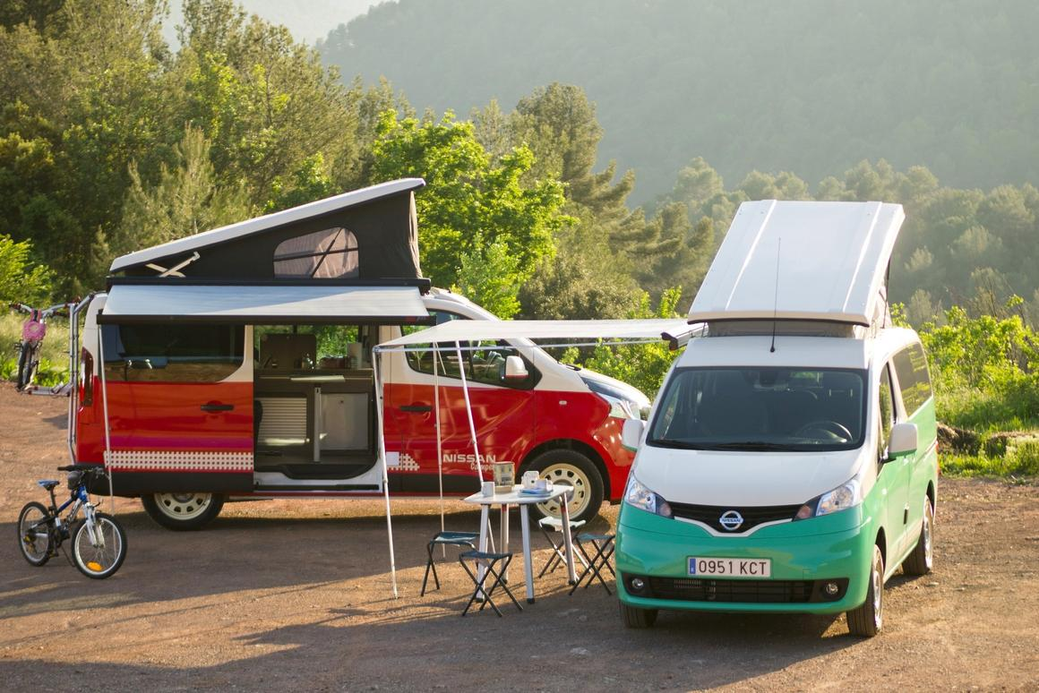 Nissan has added a pair of camper vans to its Spanish fleet