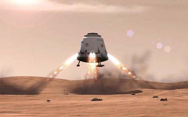 SpaceX's SuperDraco engines could also be used for precise propulsive landings