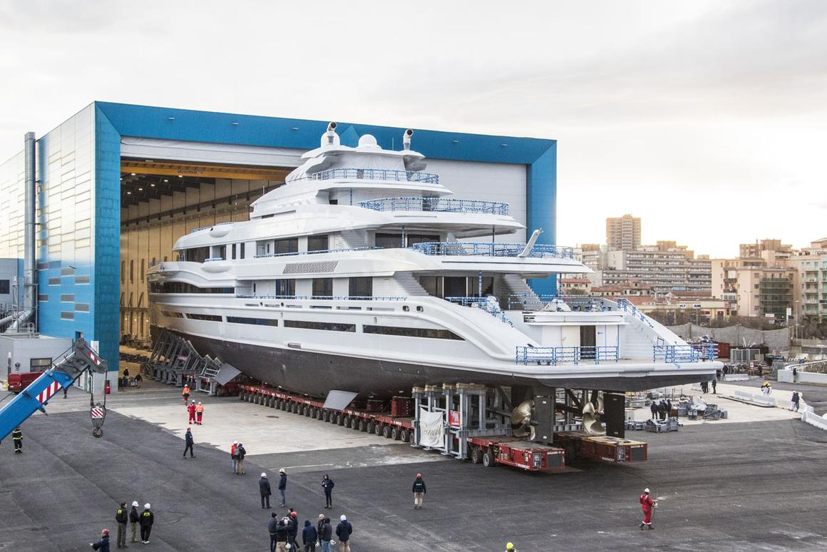 Italian shipyard upsizes luxury with launch of its first 351