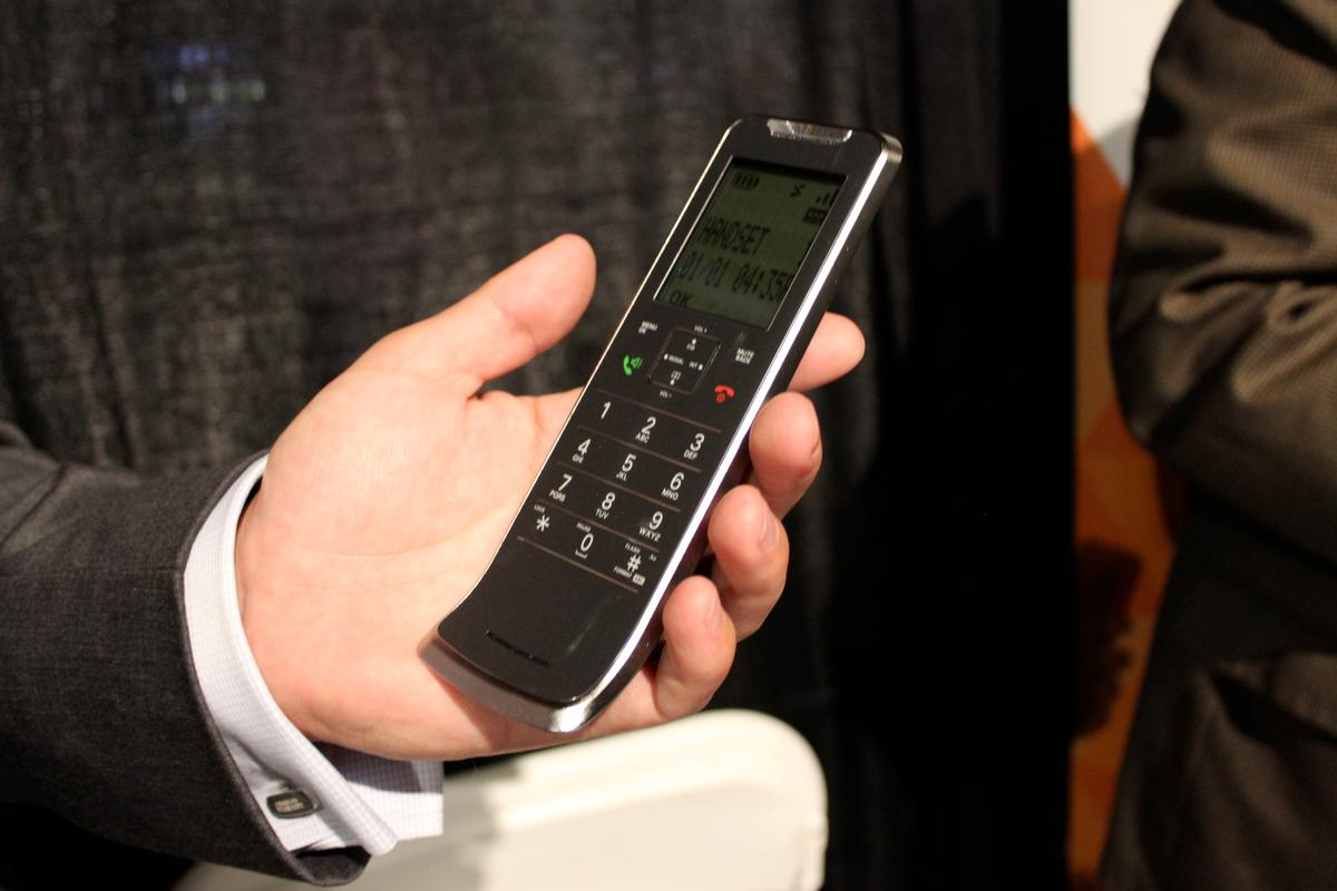 The slim IT.6 handset at CE Week in New York
