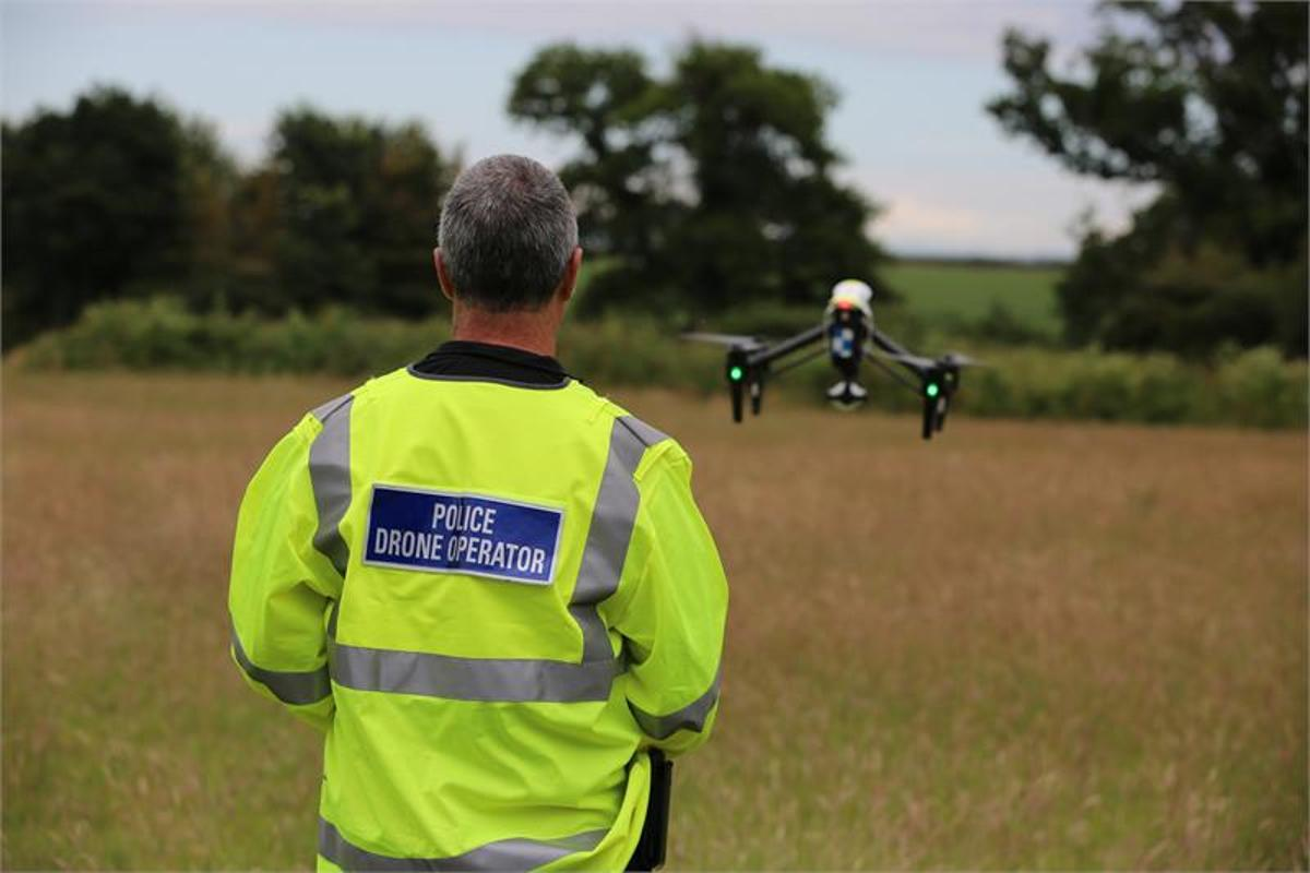 A joint alliance between three police districts is launching the UK's first dedicated Drone Unit