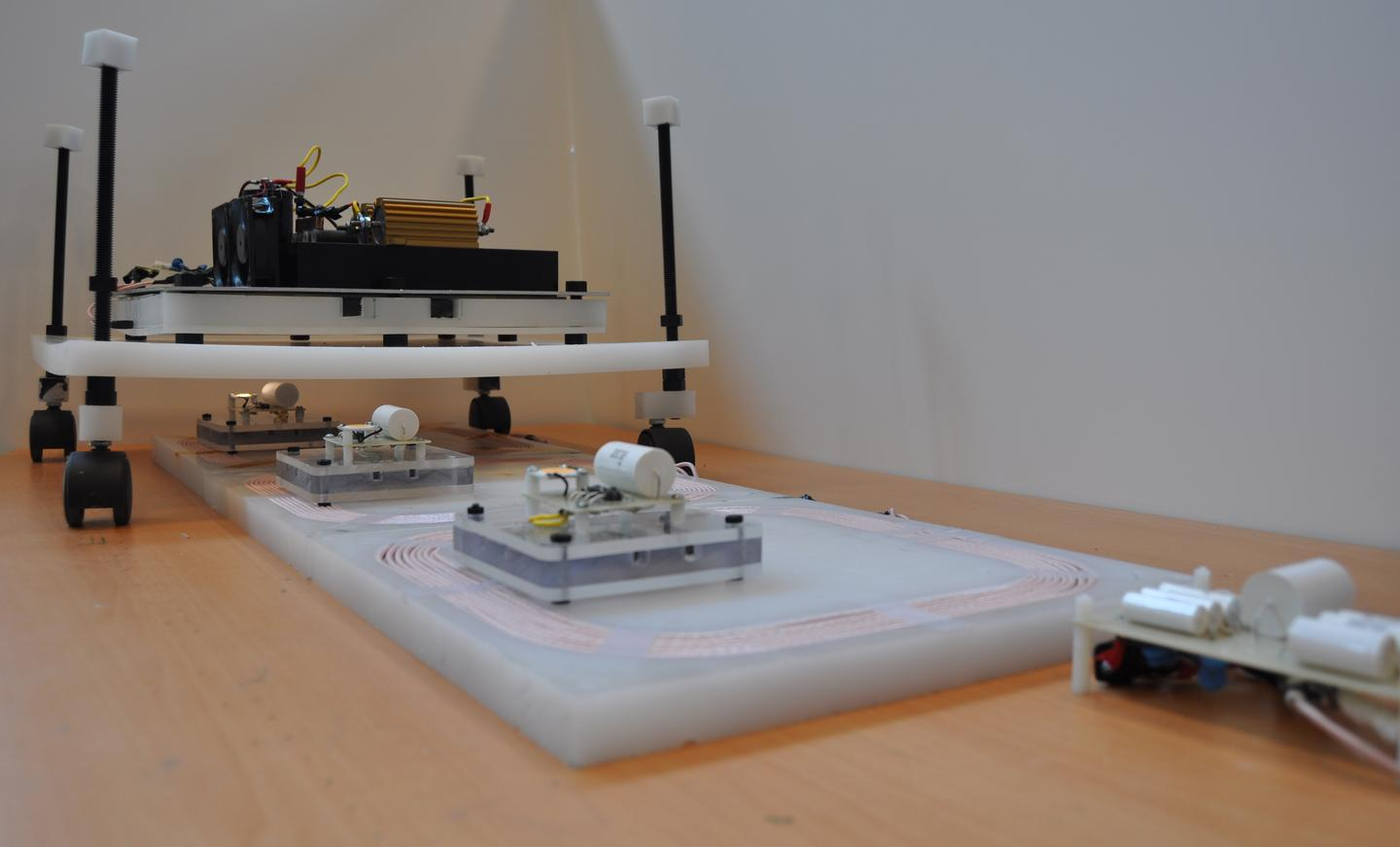 The small-scale prototype of the system