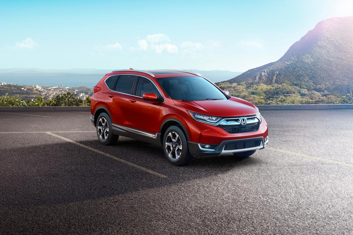 The new Honda CR-V has a new, luxurious interior and turbocharged engine