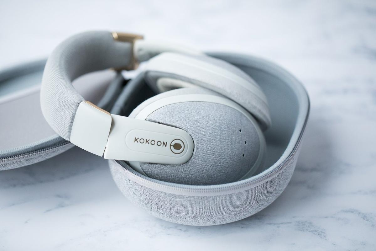 Definitely one of the most comfortable Bluetooth headphones on the market, Kokoon are designed to help you sleep better