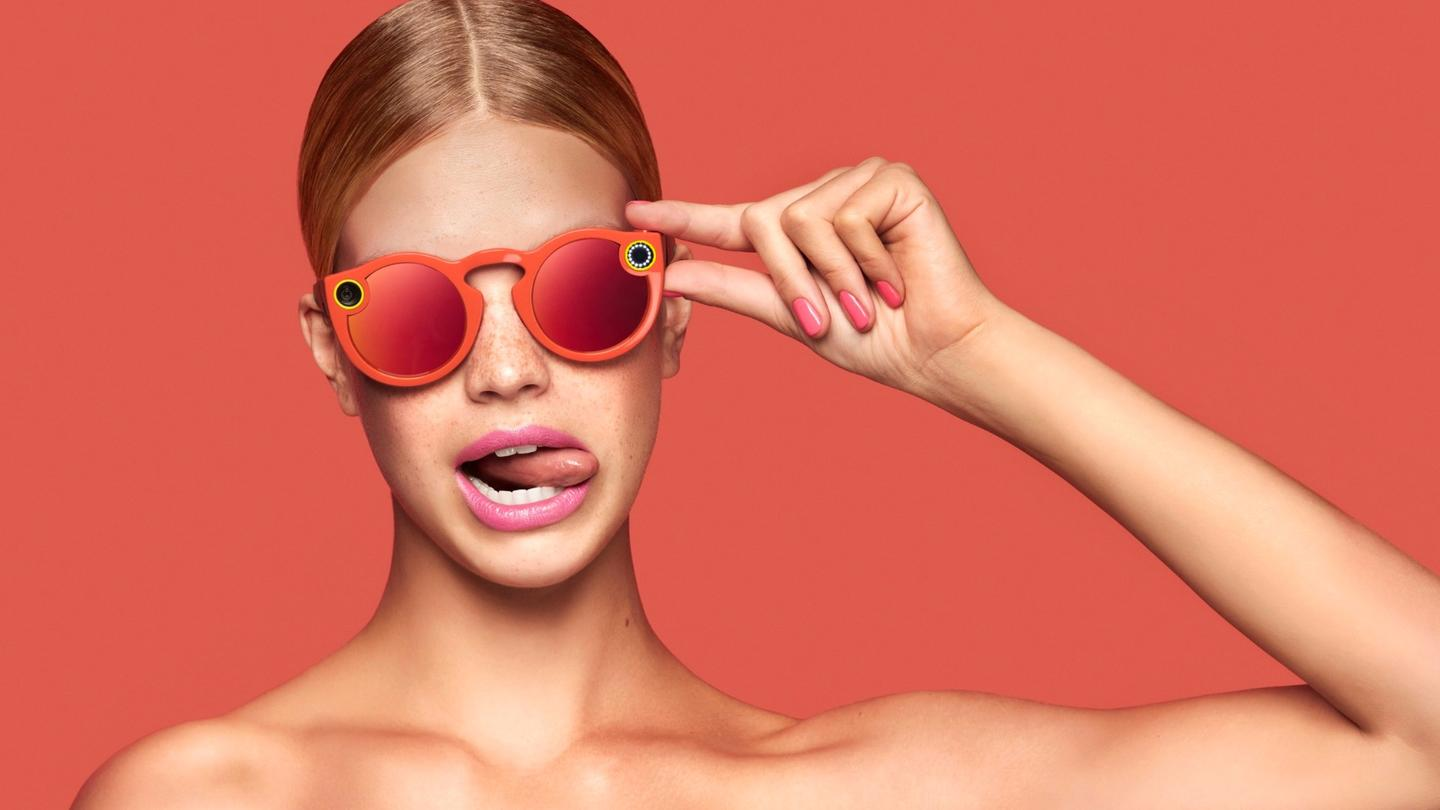 Snapchat-specific camera-equipped sunglasses are now available for purchase online