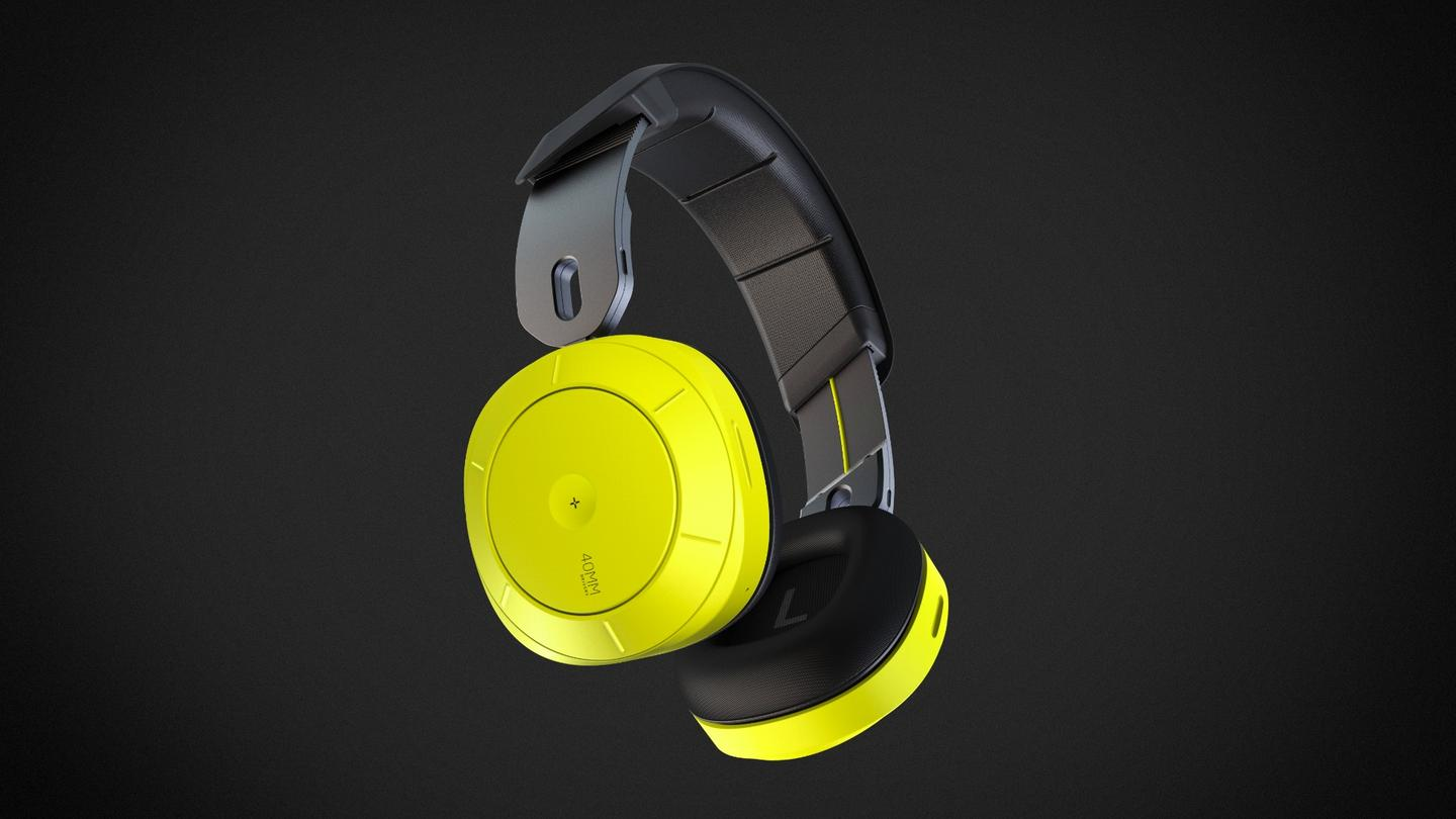 The Soundshield headphones are water-resistant, foldable, feature 40-mm drivers along with a mic for taking phone calls, and they communicate with the user's mobile device via Bluetooth 4.2