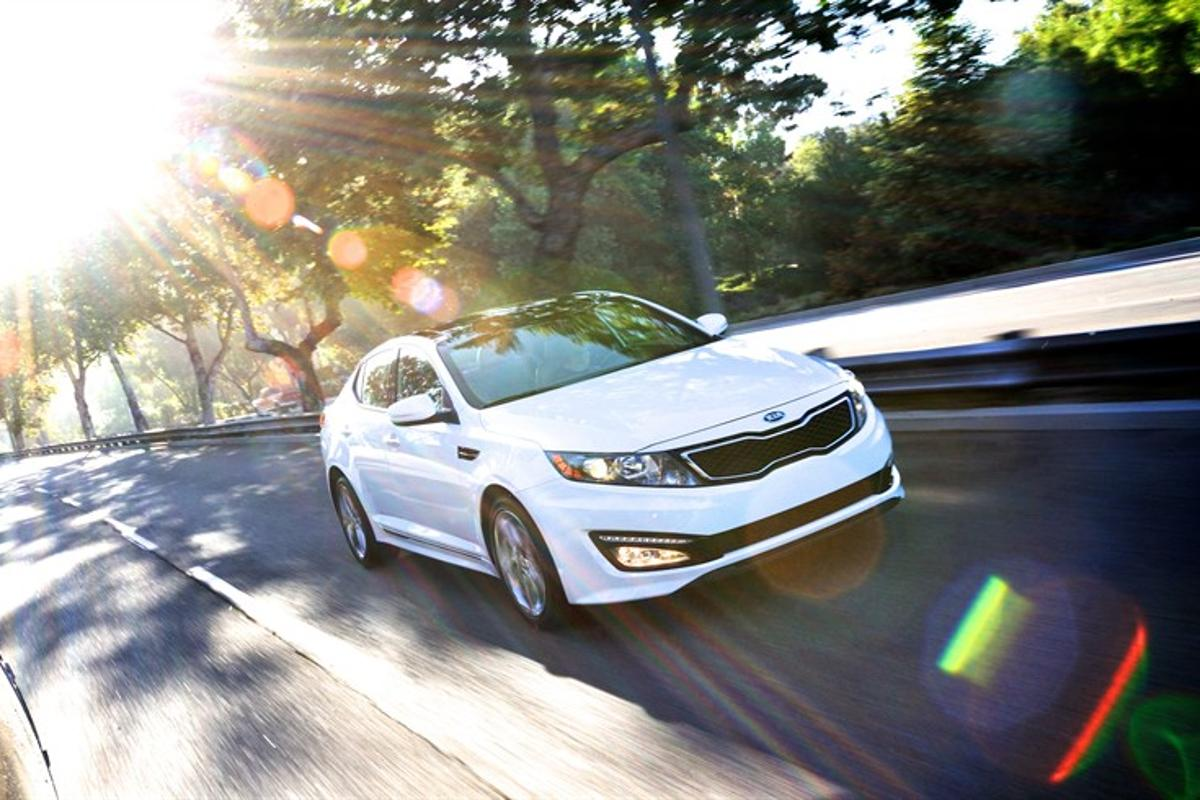 The 2013 Kia Optima is an IIHS Top Safety Pick+