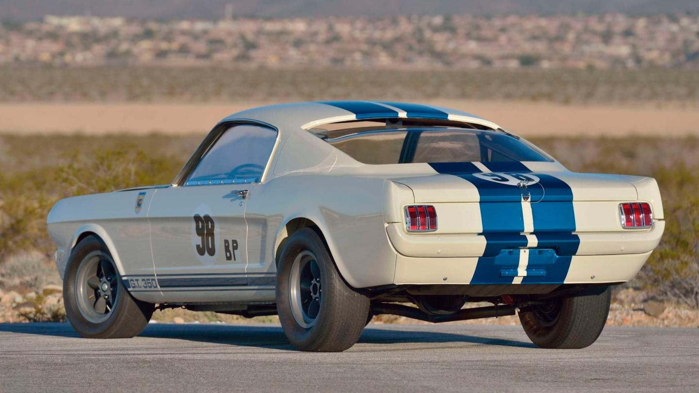 "$3,850,000 | 1965 Shelby GT350 ""R-Model"" prototype 