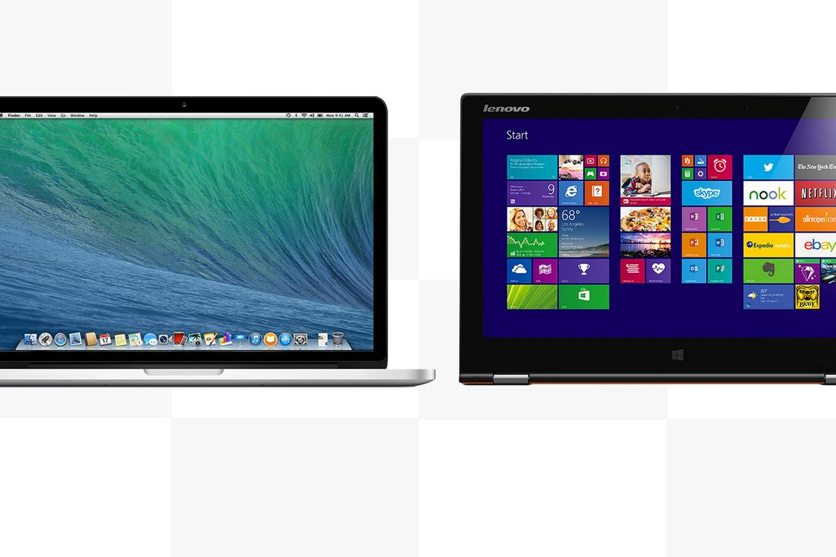 Gizmag compares the features and specs of the 13-in MacBook Pro with Retina Display to the Lenovo Yoga 2 Pro