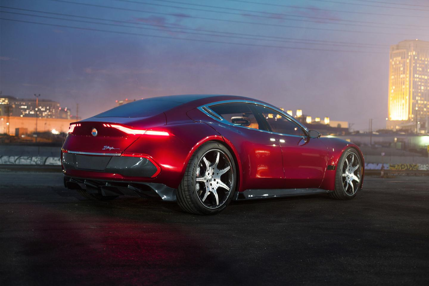 Fisker's EMotion looks much more aggressive than the average luxury sedan