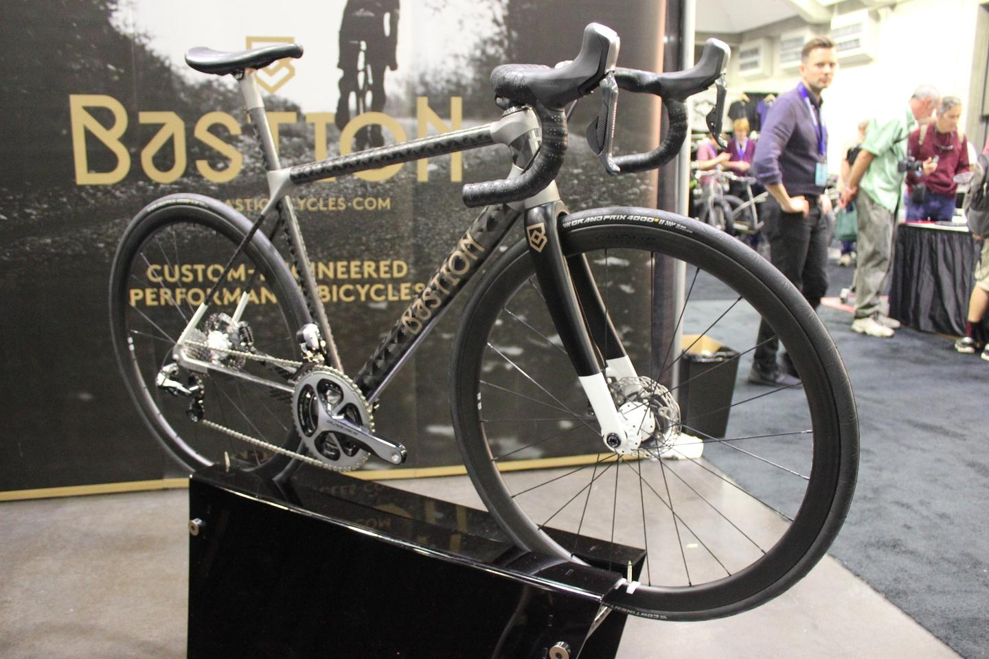 Bastion Cycles' Road Disc bike, on display at NAHBS