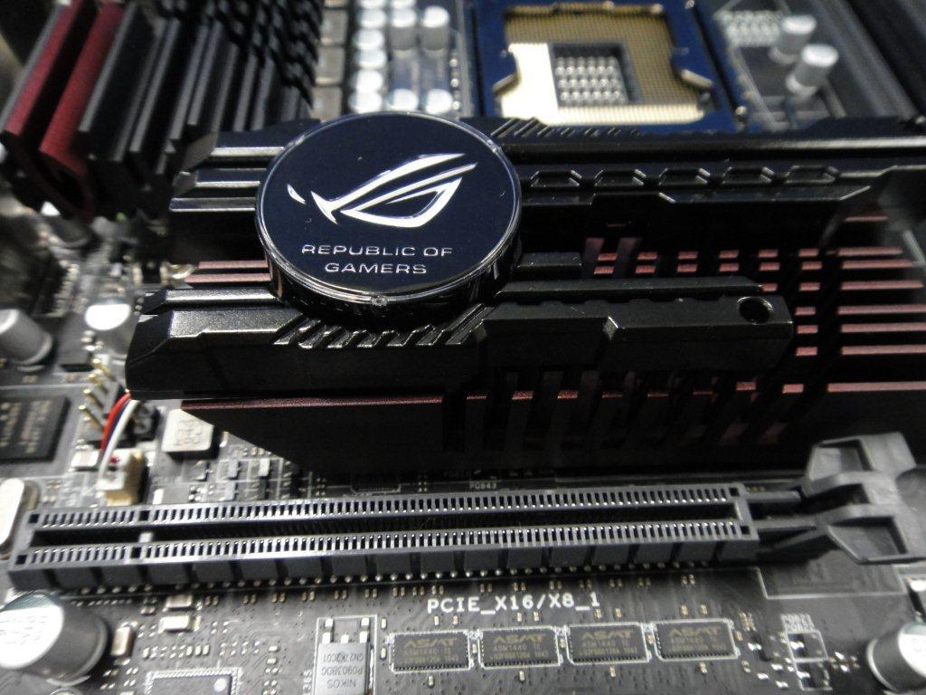 The Rampage III Extreme Black Edition mainboard