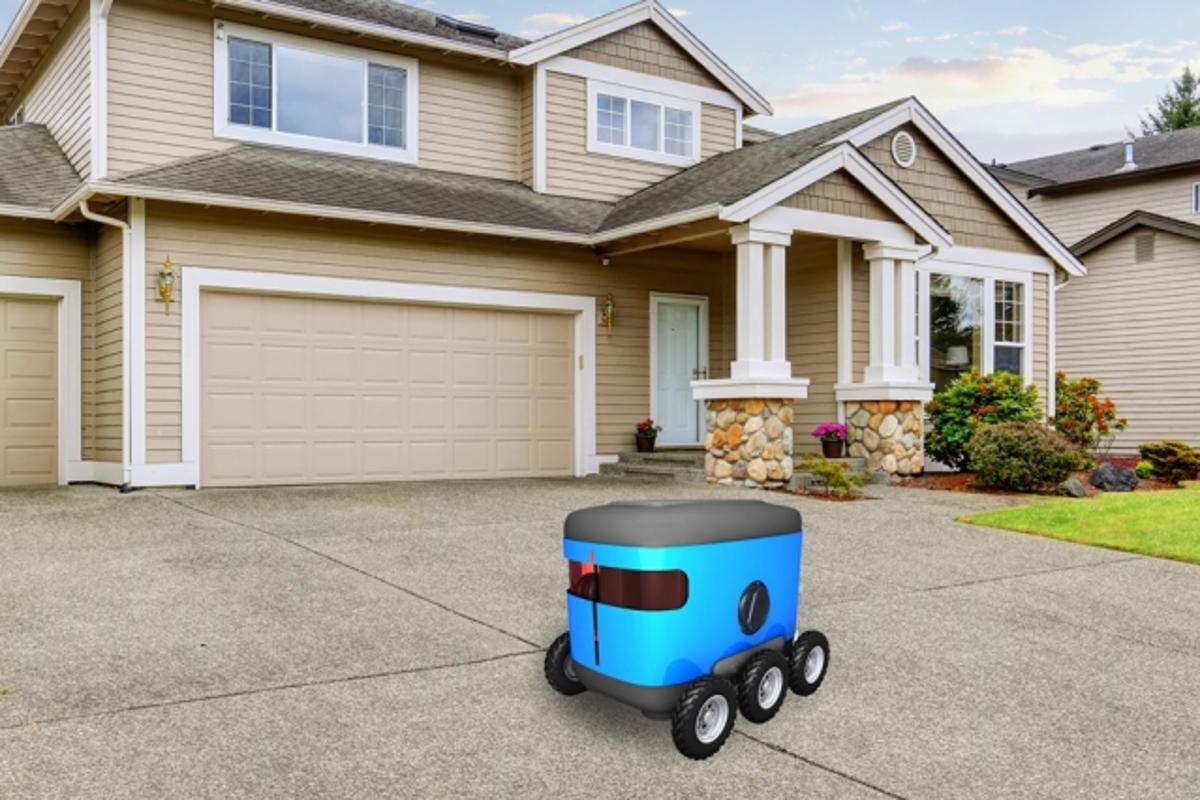 New navigation software developed at MIT enables delivery robots to find the front door using visual cues