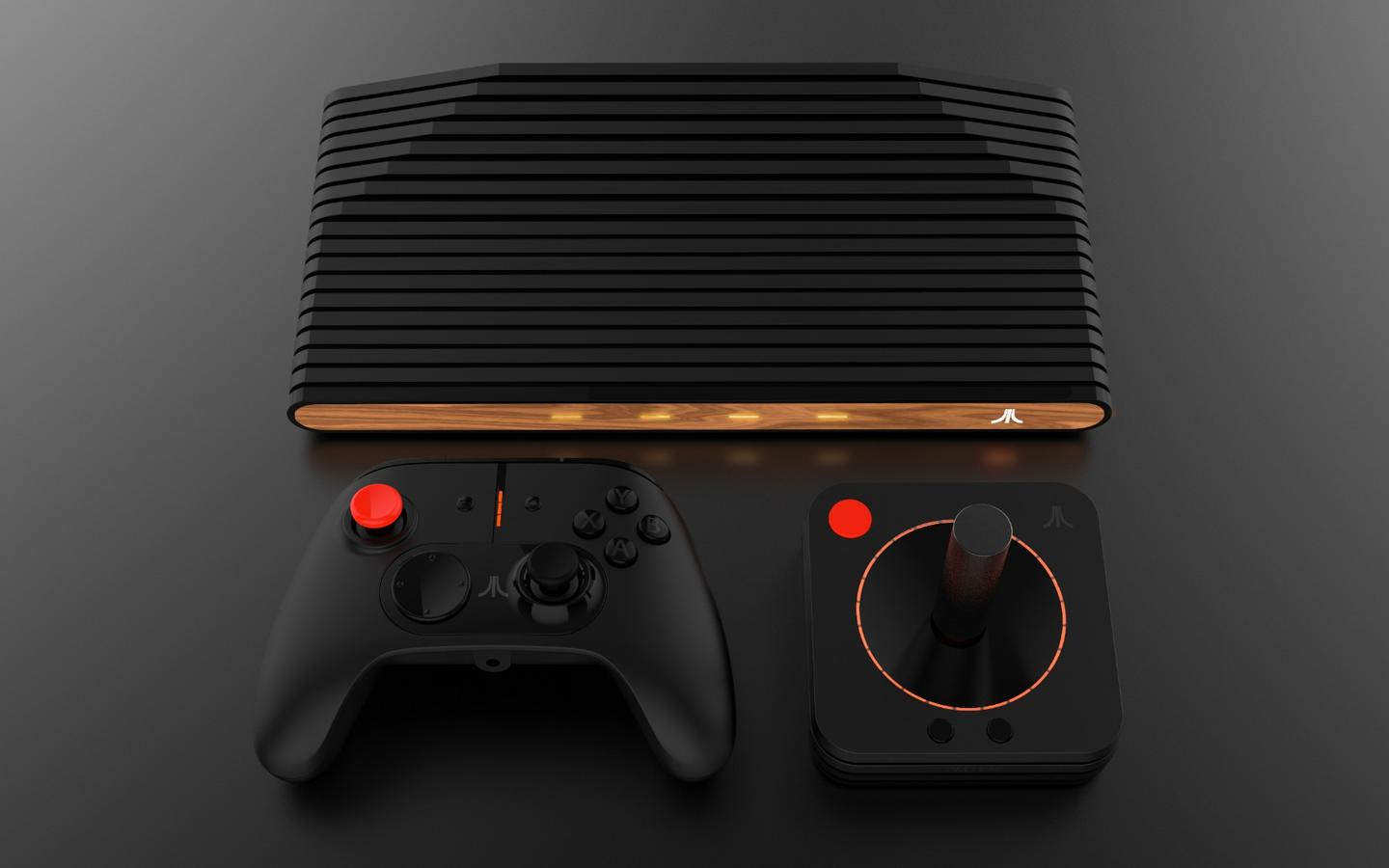The Atari VCS will be playable with both a Classic Joystick and a new Modern Controller
