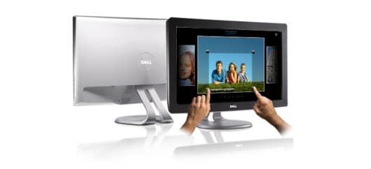 Dell's SX22102 monitor offers multi-touch functionality