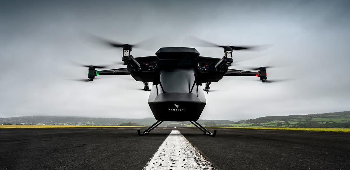 The Seraph prototype is Britain's leading air taxi contender